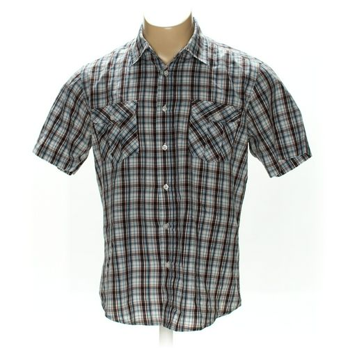 Paper Denim & Cloth Button-up Short Sleeve Shirt in size L at up to 95% Off - Swap.com