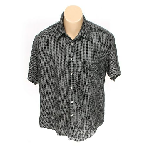 Perry Ellis Portfolio Button-up Short Sleeve Shirt in size M at up to 95% Off - Swap.com
