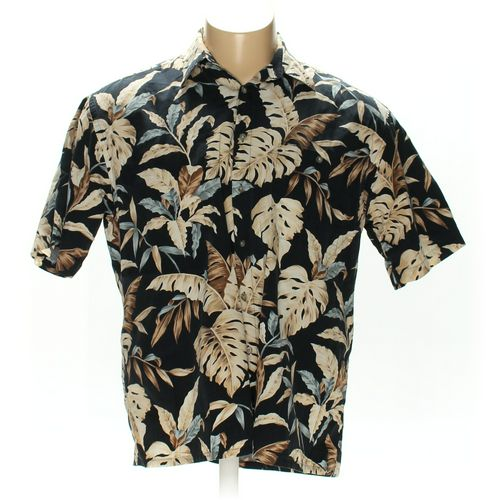 Pierre Cardin Button-up Short Sleeve Shirt in size XL at up to 95% Off - Swap.com
