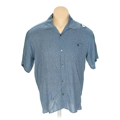 Pronto-Uomo Button-up Short Sleeve Shirt in size XXL at up to 95% Off - Swap.com