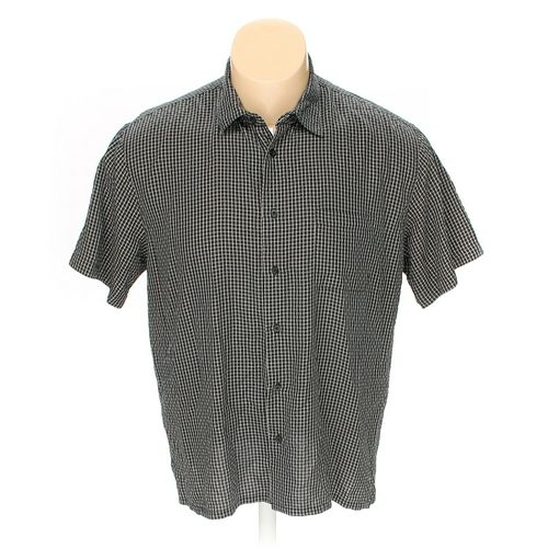 Pronto Uomo Button-up Short Sleeve Shirt in size XXL at up to 95% Off - Swap.com