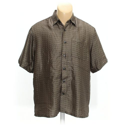 Pronto Uomo Button-up Short Sleeve Shirt in size M at up to 95% Off - Swap.com