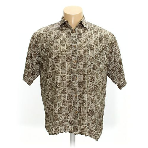 Puritan Button-up Short Sleeve Shirt in size XL at up to 95% Off - Swap.com