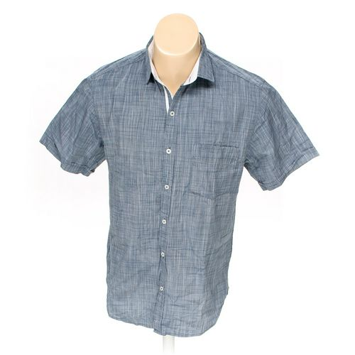 Rampage Button-up Short Sleeve Shirt in size S at up to 95% Off - Swap.com