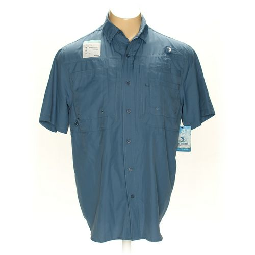 Reel Legends Button-up Short Sleeve Shirt in size M at up to 95% Off - Swap.com