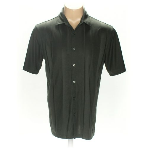 R&R Casual Button-up Short Sleeve Shirt in size L at up to 95% Off - Swap.com