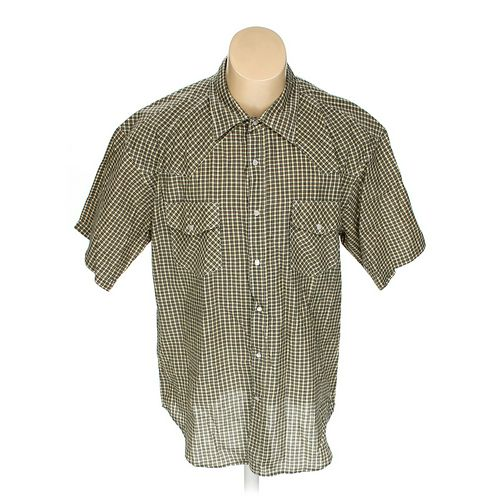 Rugged Wear Button-up Short Sleeve Shirt in size XL at up to 95% Off - Swap.com