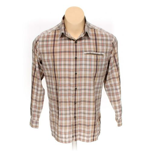 St. John's Bay Button-up Short Sleeve Shirt in size L at up to 95% Off - Swap.com
