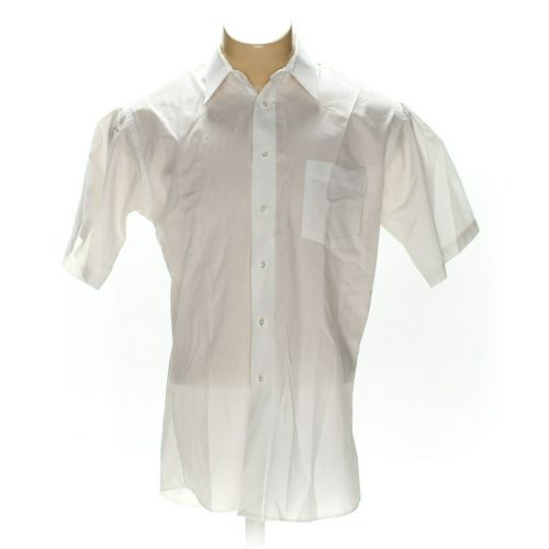 """Stafford Button-up Short Sleeve Shirt in size 42"""" Chest at up to 95% Off - Swap.com"""