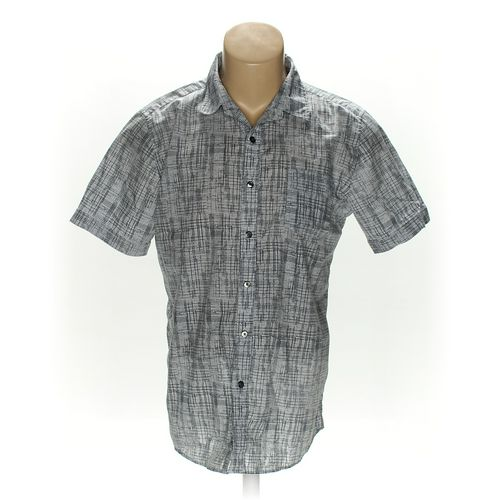 Structure Button-up Short Sleeve Shirt in size L at up to 95% Off - Swap.com