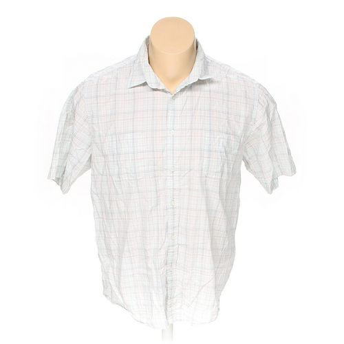 Tasso Elba Button-up Short Sleeve Shirt in size XXL at up to 95% Off - Swap.com