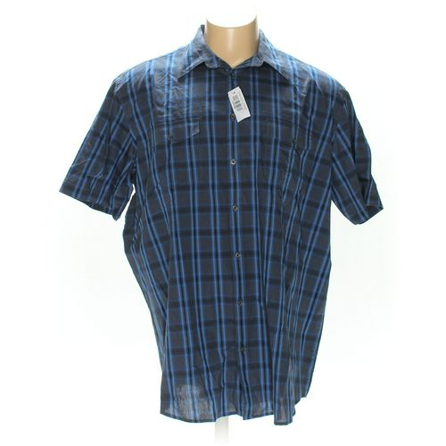 The Foundry Supply Co. Button-up Short Sleeve Shirt in size 2XL at up to 95% Off - Swap.com