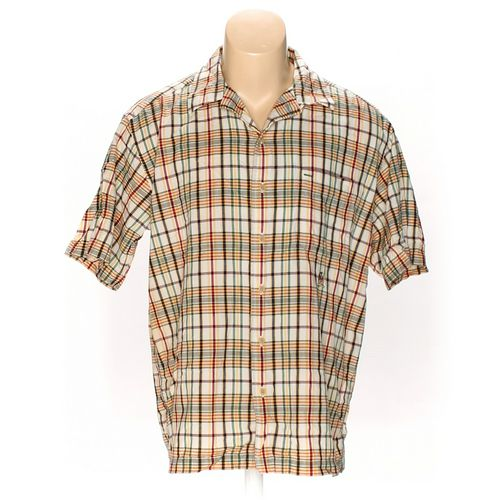 Tommy Hilfiger Button-up Short Sleeve Shirt in size L at up to 95% Off - Swap.com
