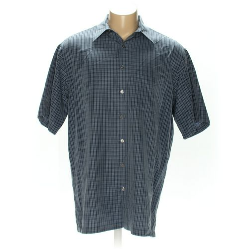 Van Heusen Button-up Short Sleeve Shirt in size 2XL at up to 95% Off - Swap.com