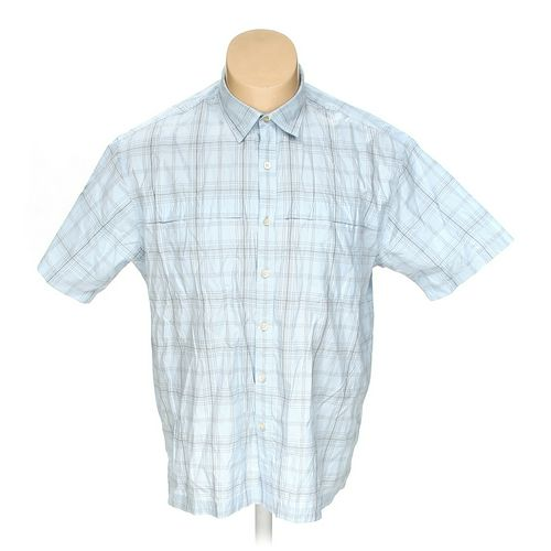 Van Heusen Button-up Short Sleeve Shirt in size XXL at up to 95% Off - Swap.com