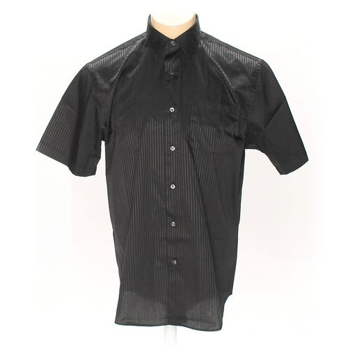 Van Heusen Button-up Short Sleeve Shirt in size L at up to 95% Off - Swap.com