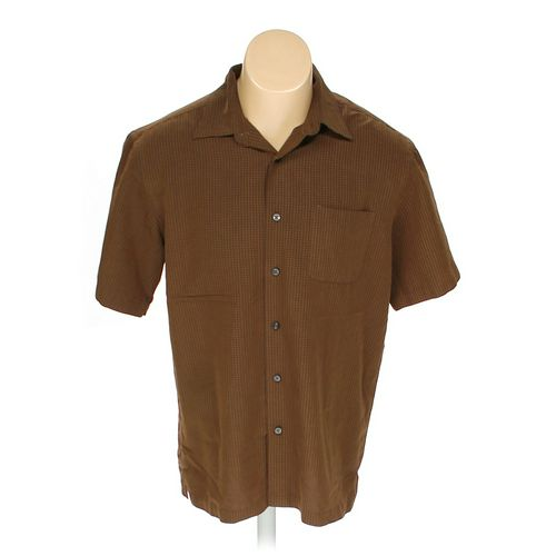 Van Heusen Button-up Short Sleeve Shirt in size M at up to 95% Off - Swap.com