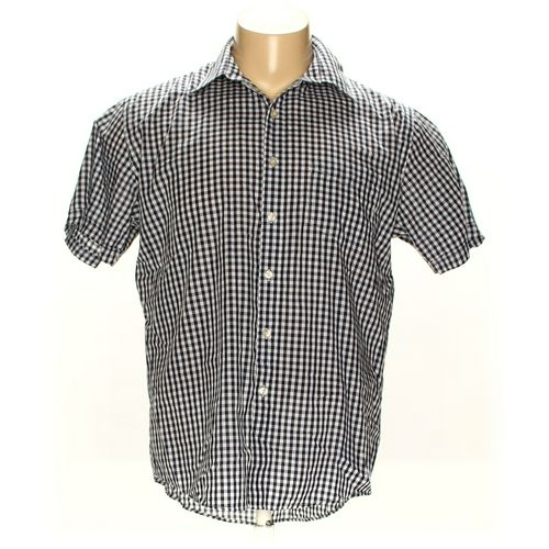 Van Heusen Button-up Short Sleeve Shirt in size XL at up to 95% Off - Swap.com