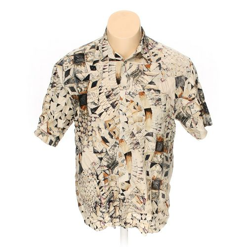 """Vivaldi Button-up Short Sleeve Shirt in size 52"""" Chest at up to 95% Off - Swap.com"""