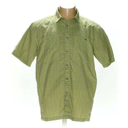 White Sierra Button-up Short Sleeve Shirt in size 2XL at up to 95% Off - Swap.com