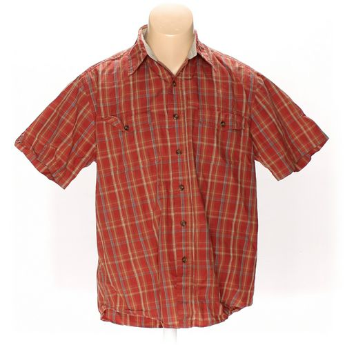 Work n' Sport Button-up Short Sleeve Shirt in size M at up to 95% Off - Swap.com