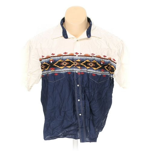 Wrangler Button-up Short Sleeve Shirt in size 2XL at up to 95% Off - Swap.com