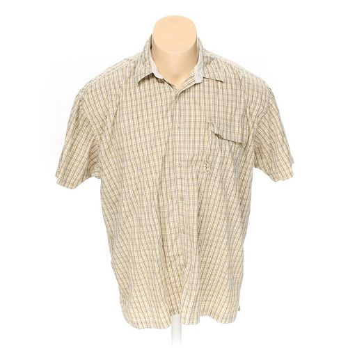 Wrangler Button-up Short Sleeve Shirt in size 3XL at up to 95% Off - Swap.com