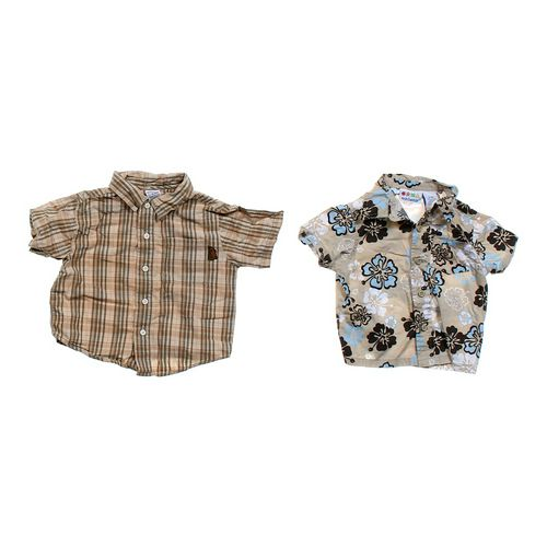 Gymboree Button-up T-shirt Set in size 12 mo at up to 95% Off - Swap.com