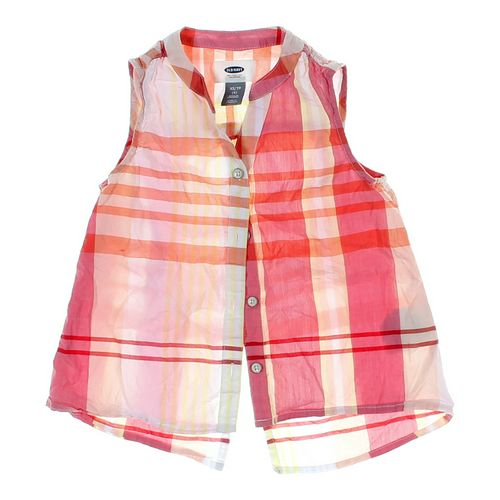 Old Navy Button-up Tank Top in size 5/5T at up to 95% Off - Swap.com