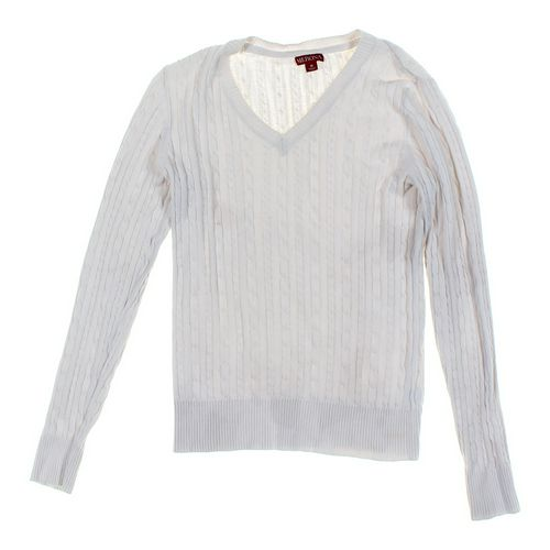 Merona Cable Knit Sweater in size JR 7 at up to 95% Off - Swap.com