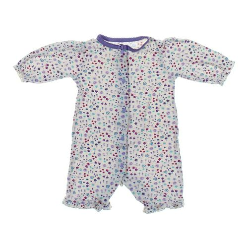 Gerber Calico-Print Romper in size NB at up to 95% Off - Swap.com