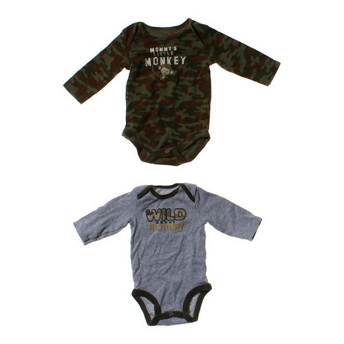 Faded Glory Camouflage Bodysuit Set in size NB at up to 95% Off - Swap.com