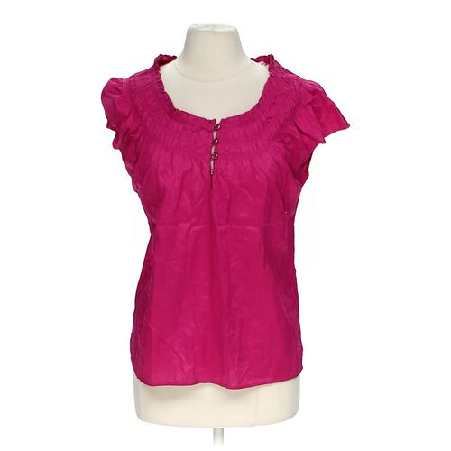 Croft & Barrow Cap Sleeved Blouse in size M at up to 95% Off - Swap.com