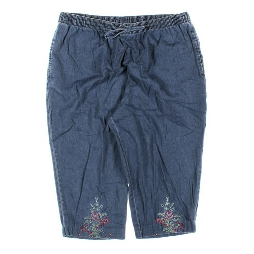 Basic Editions Capri Pants in size 1X at up to 95% Off - Swap.com