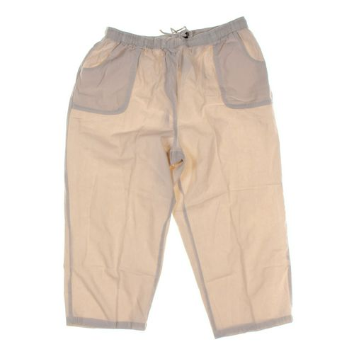 Basic Editions Capri Pants in size L at up to 95% Off - Swap.com