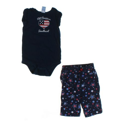 Jumping Beans Capri Pants & Bodysuit Set in size 24 mo at up to 95% Off - Swap.com