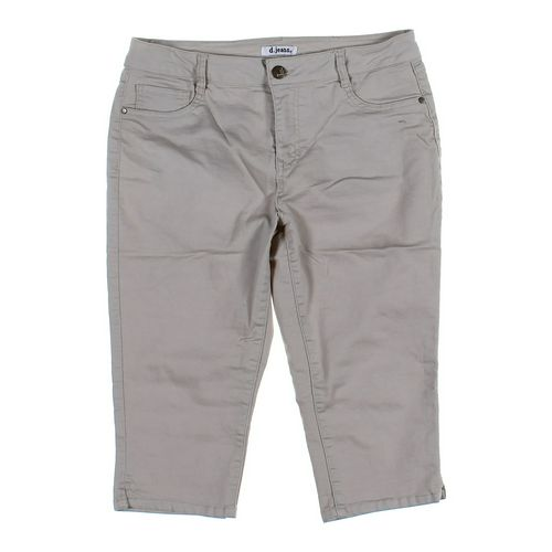 D Jeans Capri Pants in size 12 at up to 95% Off - Swap.com