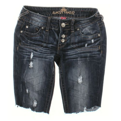 Almost Famous Capri Pants in size JR 3 at up to 95% Off - Swap.com