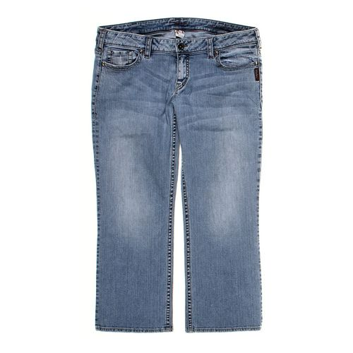 Silver Jeans Capri Pants in size 10 at up to 95% Off - Swap.com