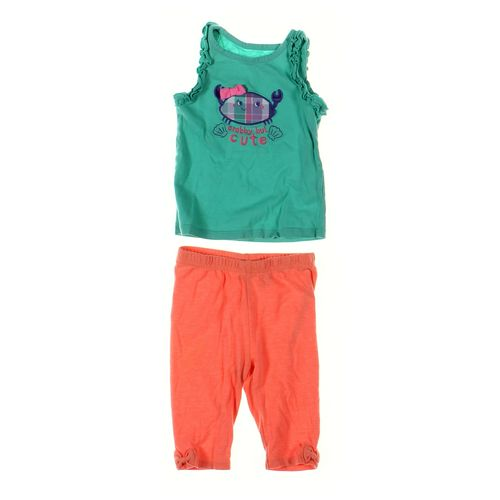 Jumping Beans Capri Pants & Tank Top Set in size 12 mo at up to 95% Off - Swap.com