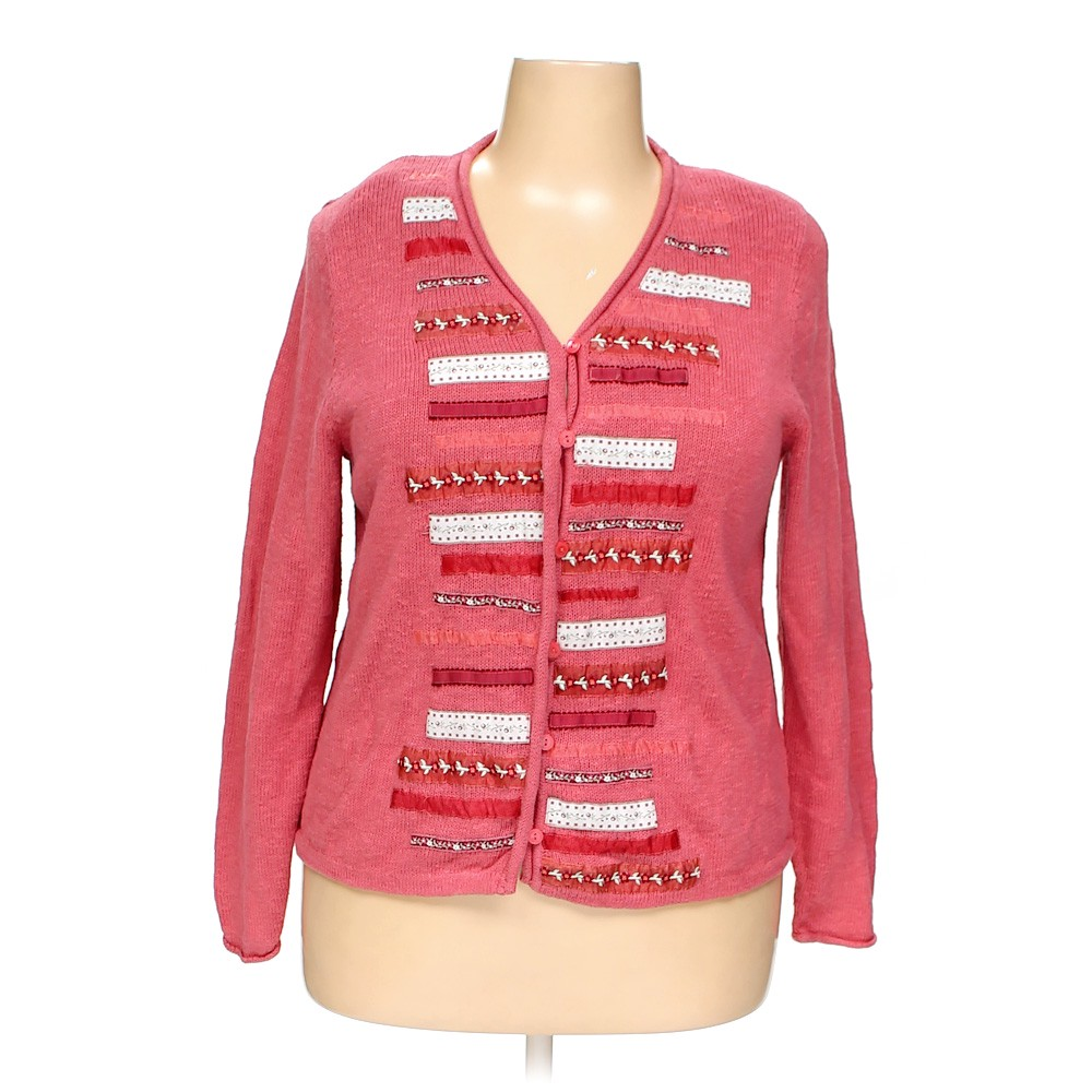 9d6096d3582 CJ Banks Cardigan in size 1X at up to 95% Off - Swap.com
