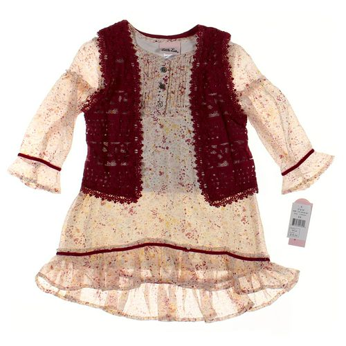 Little Lass Cardigan & Dress Set in size 6X at up to 95% Off - Swap.com