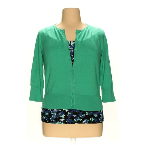 Ann Taylor Cardigan & Sleeveless Top Set in size L at up to 95% Off - Swap.com