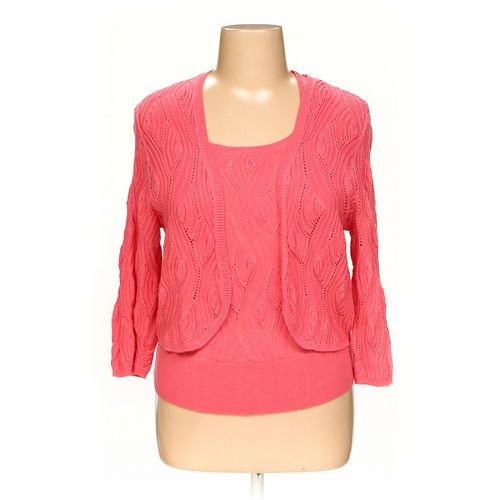 Colette Mordo Cardigan & Sleeveless Top Set in size L at up to 95% Off - Swap.com