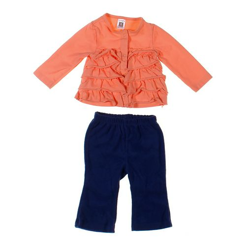 Carter's Cardigan & Sweatpants Set in size 6 mo at up to 95% Off - Swap.com