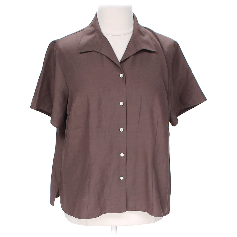 Laura Scott Casual Button Up Online Consignment