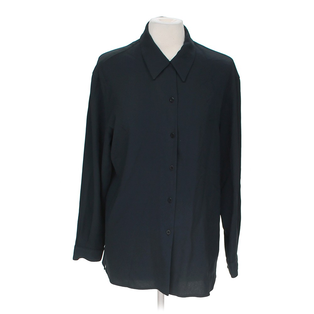 Liz Claiborne Casual Button Up In Size 10 At Up To 95 Off