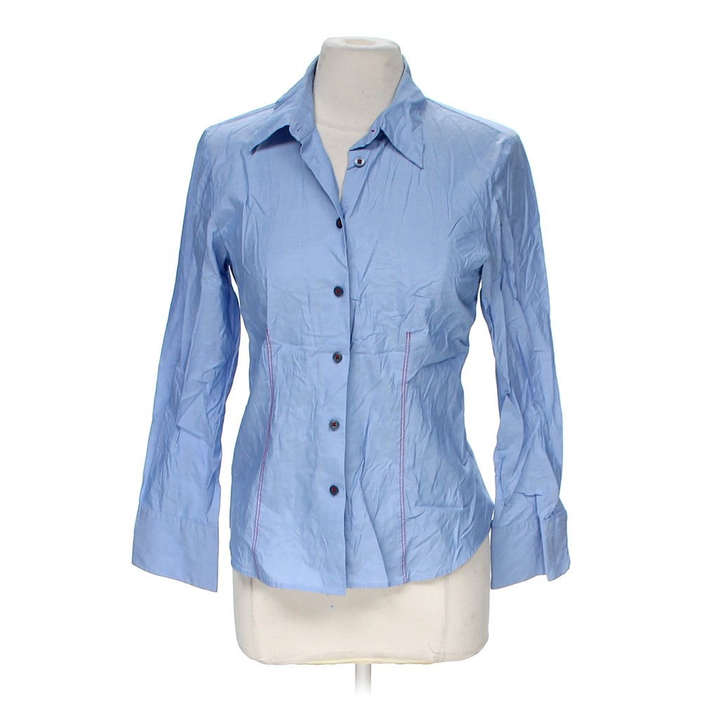 Talbots Casual Button Up In Size 8 At Up To 95 Off