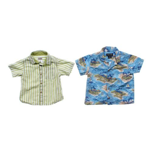 Arizona Casual Button-up Set in size 18 mo at up to 95% Off - Swap.com