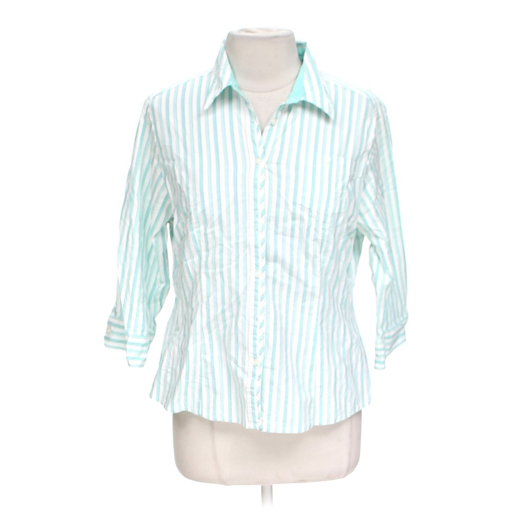 White Riders Casual Button Up Shirt In Size Xl At Up To 95